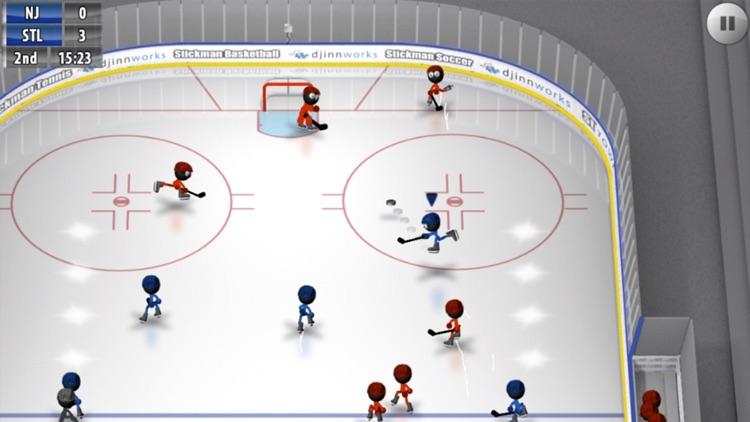 Stickman Ice Hockey screenshot-0