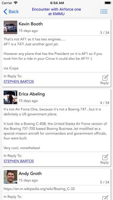 Copa Mobile Forum Reader review screenshots