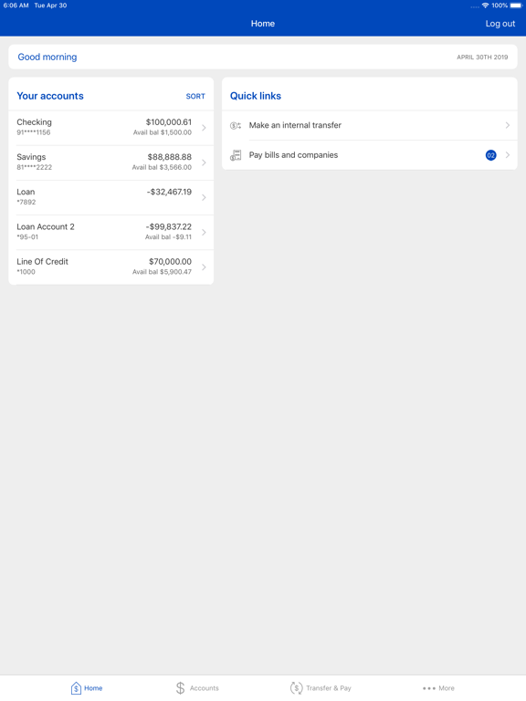 Cobalt Mobile Banking-ipad-2