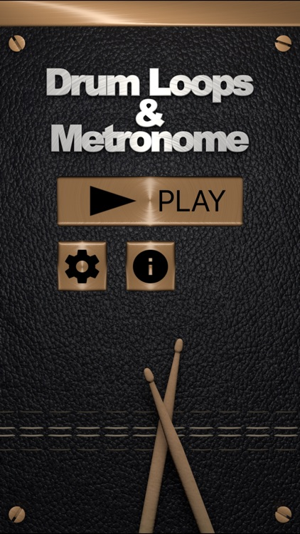 Drum Loops & Metronome Pro screenshot-0