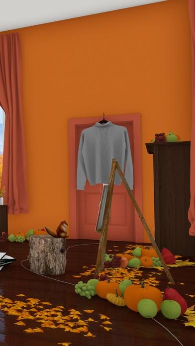 脱出ゲーム Autumn 紅葉とキノコとリスの家のおすすめ画像3