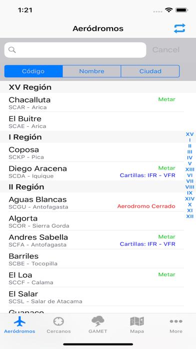 Aerodromos ChileCaptura de pantalla de1
