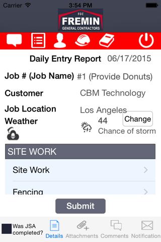Fremin Job Management - náhled