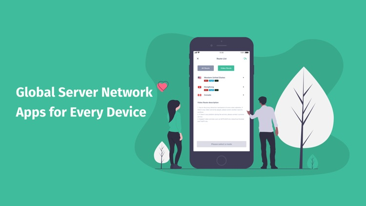 VPN Proxy-VPNGO,vpn for iPhone screenshot-3