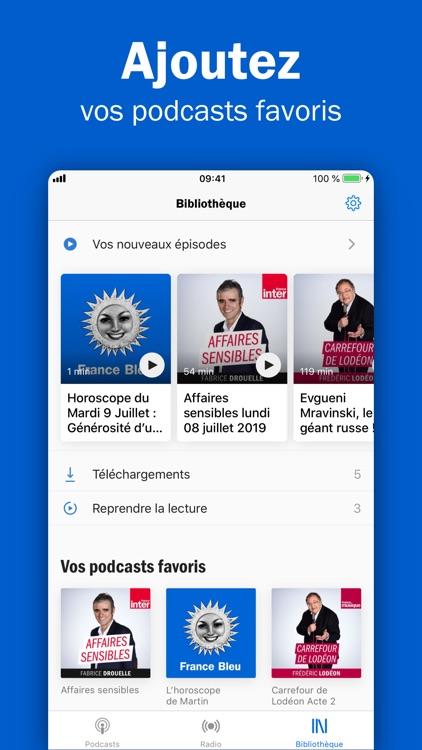 Radio France - podcasts, infos screenshot-3