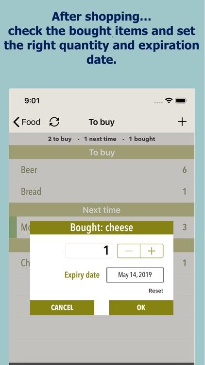 Shopping list BestBefore screenshot-4