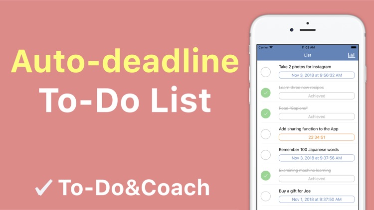 To-Do&Coach  task list manager