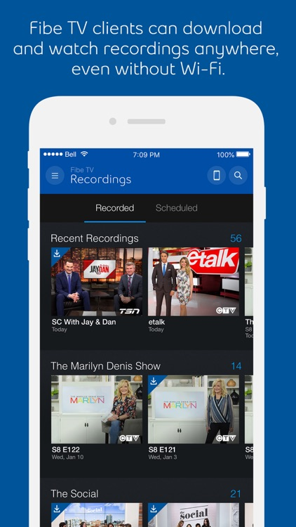 Bell Fibe TV screenshot-3