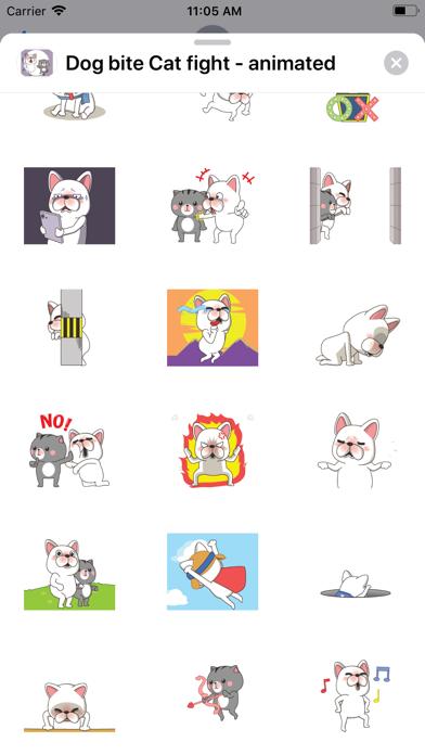 Dog bite Cat fight - animated screenshot 6