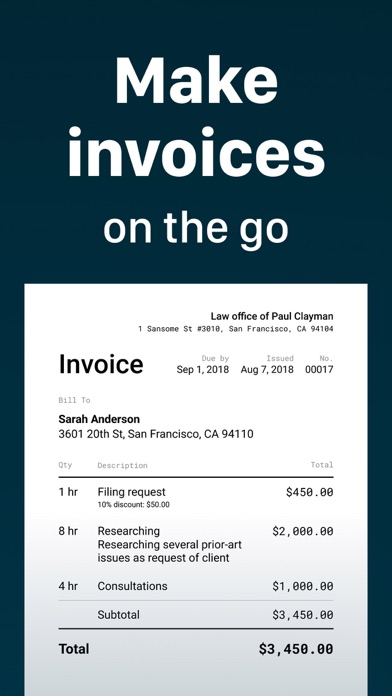 Invoice Maker -Simple Invoices Screenshot