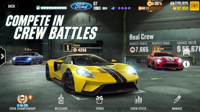 CSR Racing 2 Screenshot on iOS