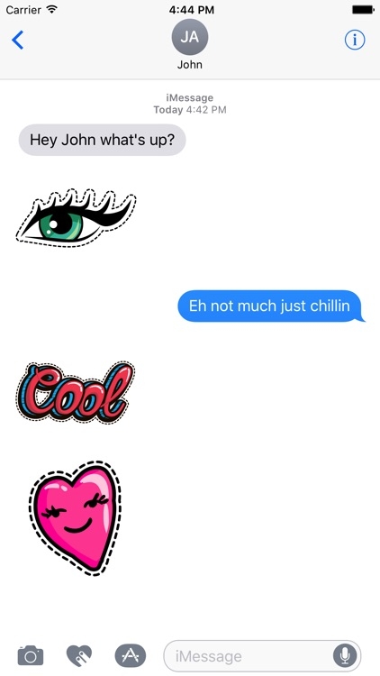 Dashed Fashion Stickers