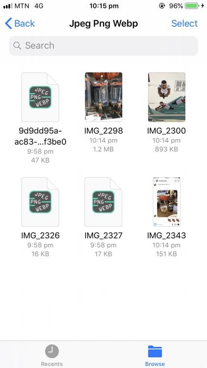 Jpeg Png Webp Converter screenshot-5