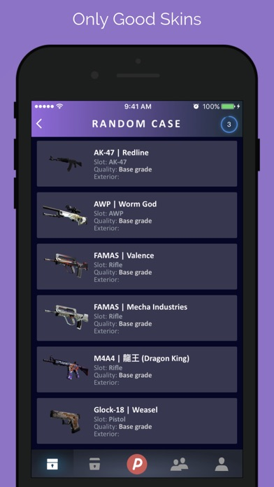 DailySkins: Cases & Skins screenshot four