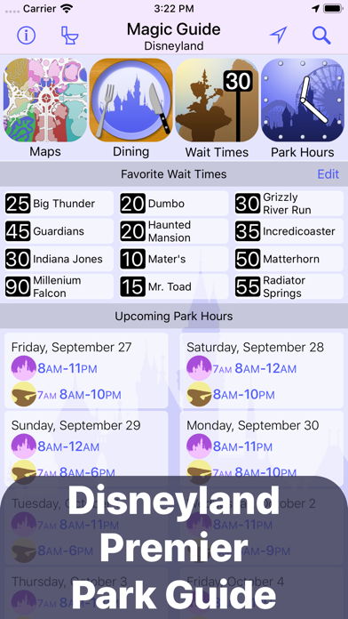 Magic Guide for Disneyland Screenshot