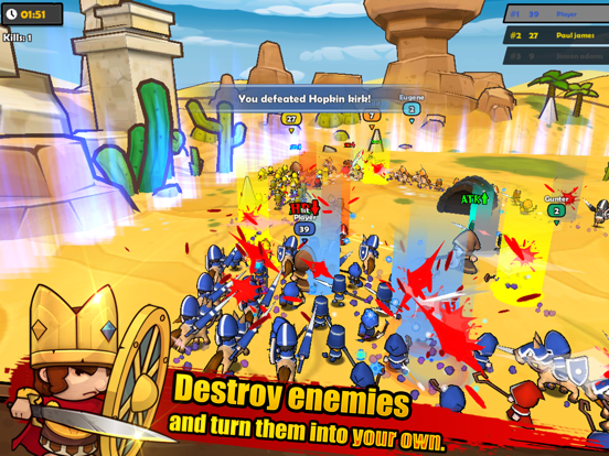 MiniWarriors.io screenshot 7