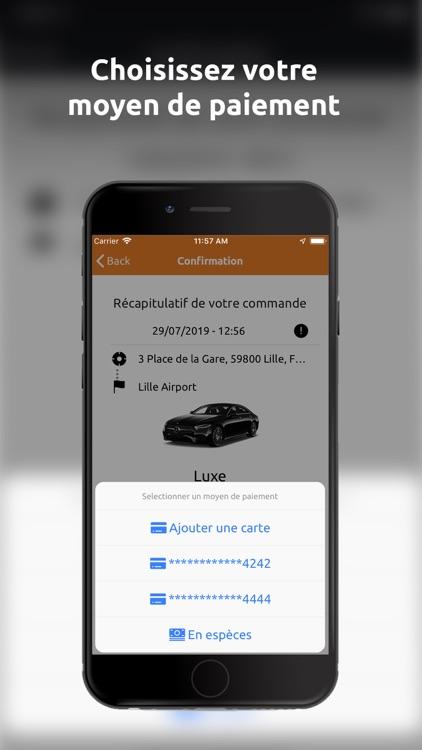 OhCab : Réserver Un VTC screenshot-5