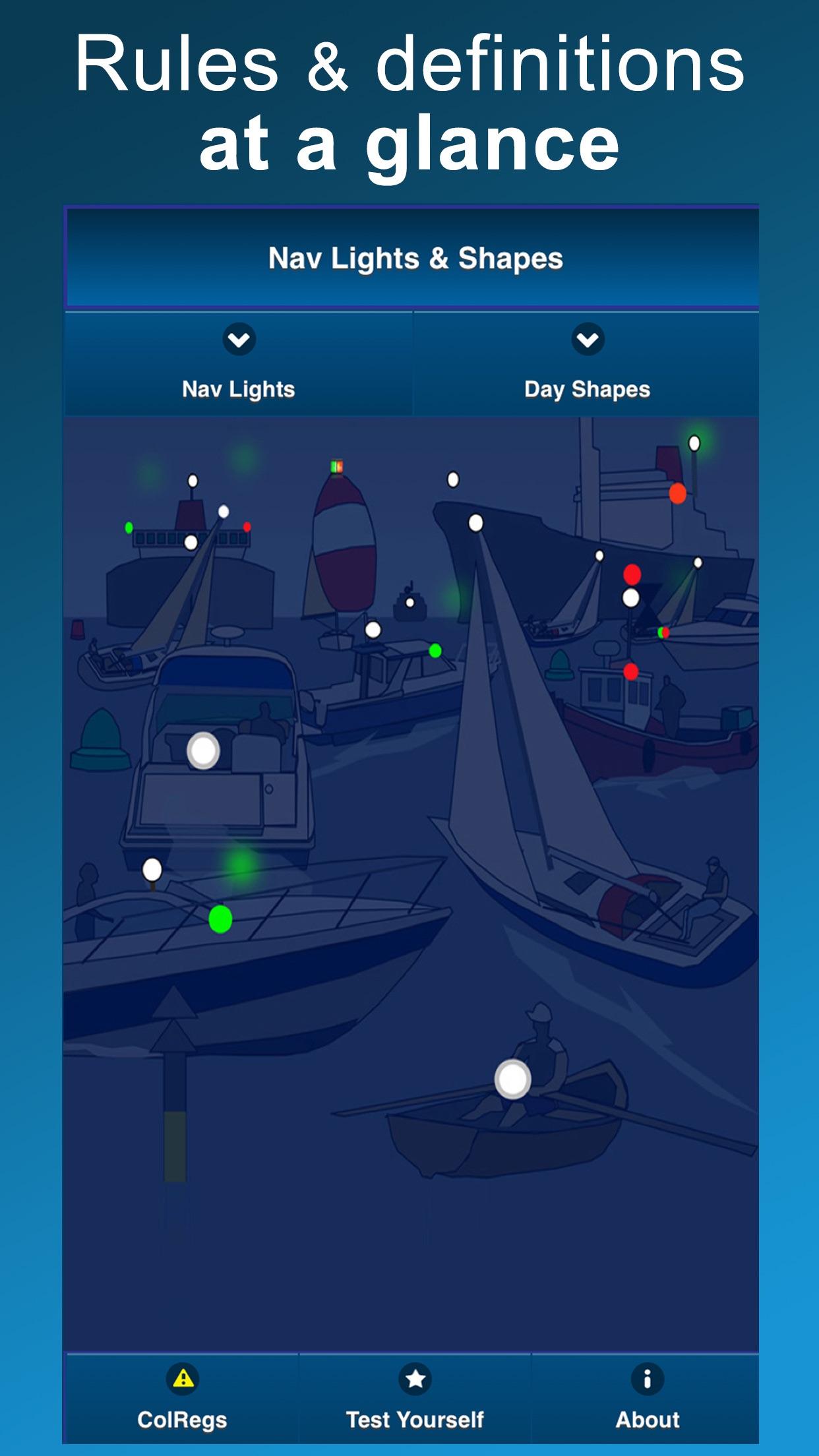 ColRegs: Nav Lights & Shapes Screenshot