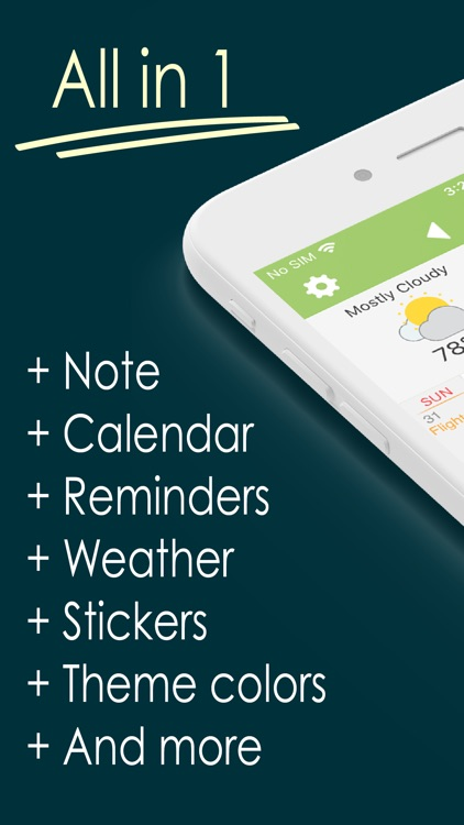 Awesome Calendar Lite screenshot-0