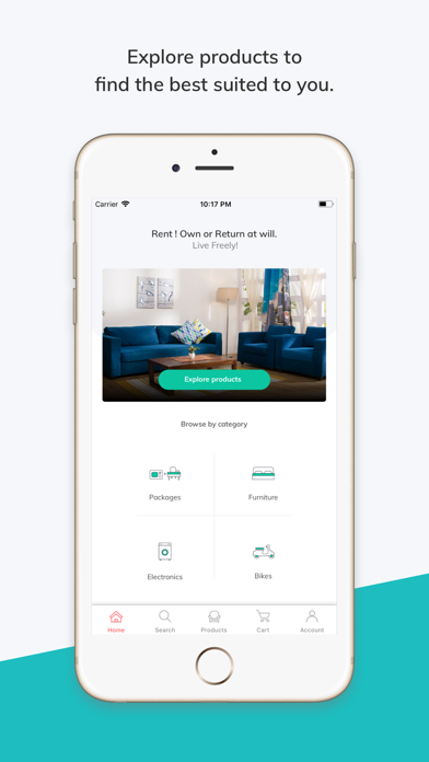 RentoMojo: Products On Rent by Edunetwork Pvt Limited (iOS, United