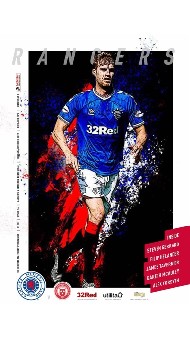Rangers FC Digital Programme screenshot one
