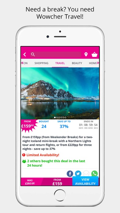 Wowcher - Deals & Vouchers screenshot two