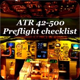 Preflight checklist ATR 42-500