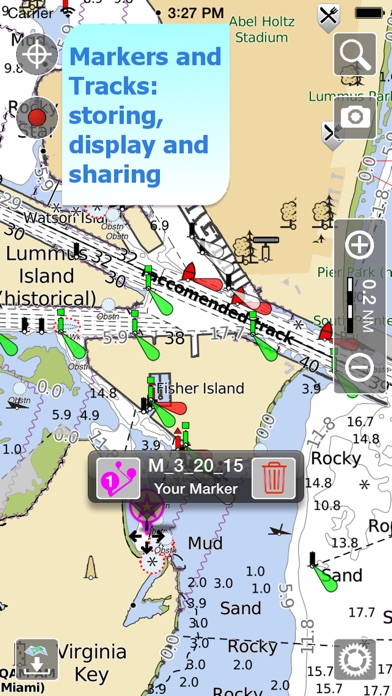 Aqua Map Marine - Boating GPS Screenshot
