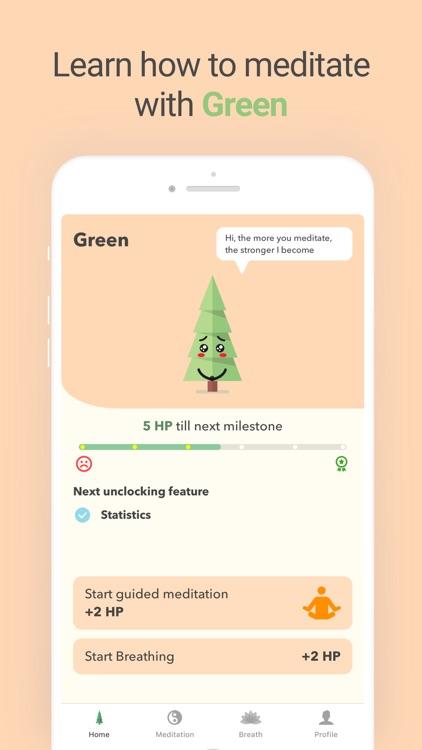 Green — Focus & Meditate