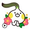 Animated Cute Onion Sticker