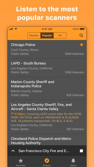 Scanner Radio: Police & Fire