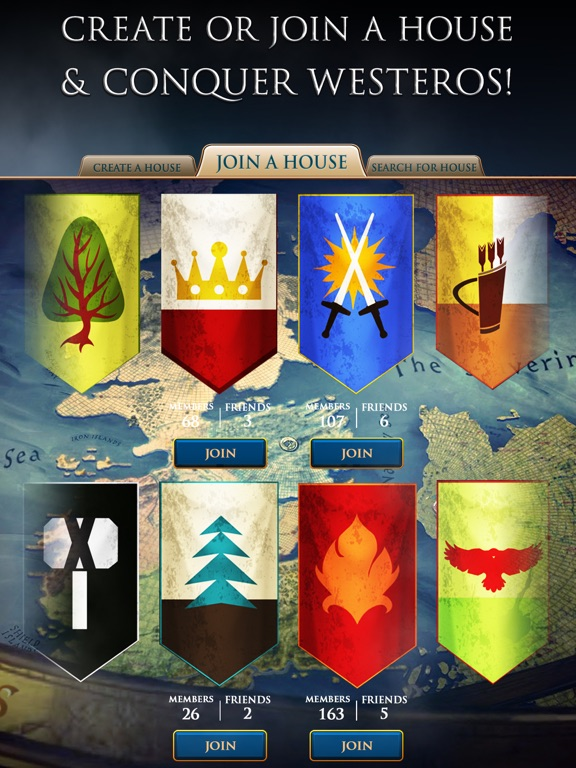 iPad Image of Game of Thrones Slots Casino