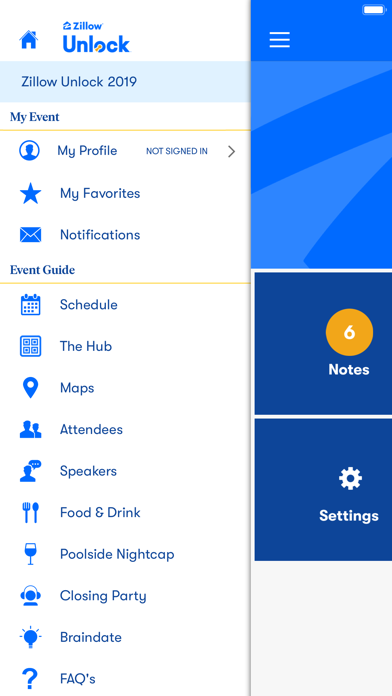 Zillow Events screenshot two