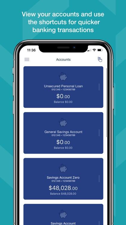 Qudos Bank Mobile screenshot-0