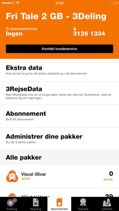 Screenshot for Mit 3 in Denmark App Store