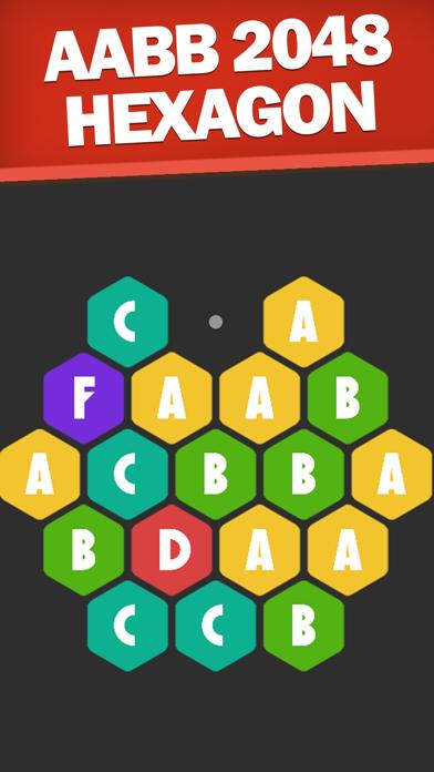 AABB 2048 Hexagon screenshot 2