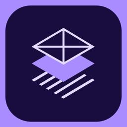Ícone do app Adobe Comp CC