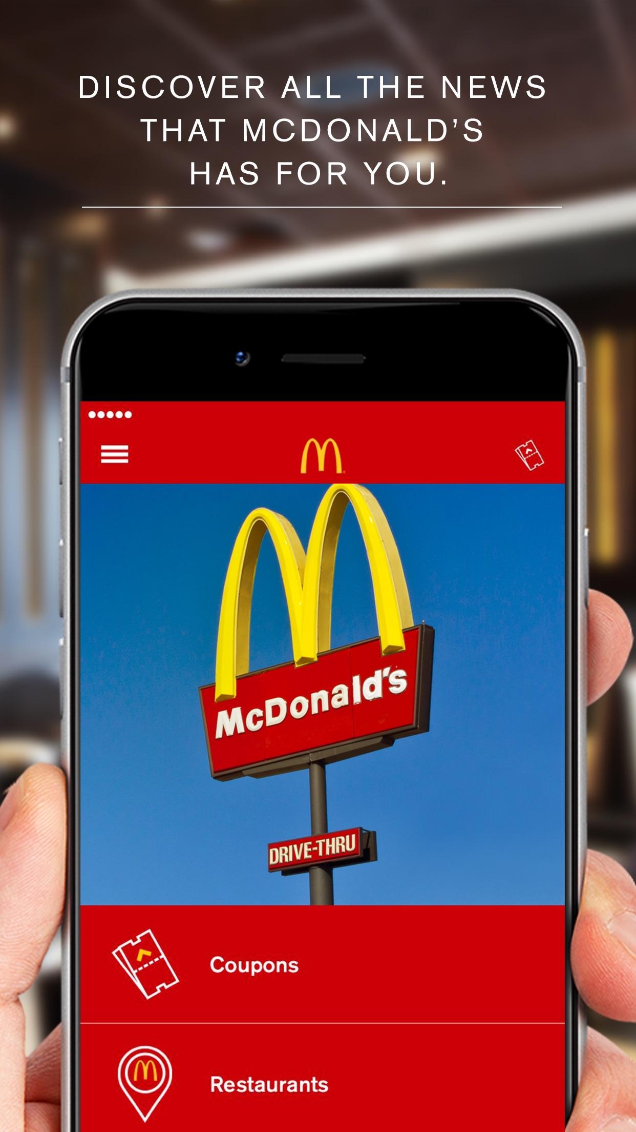 McDonald's App - Latinoamérica Screenshot