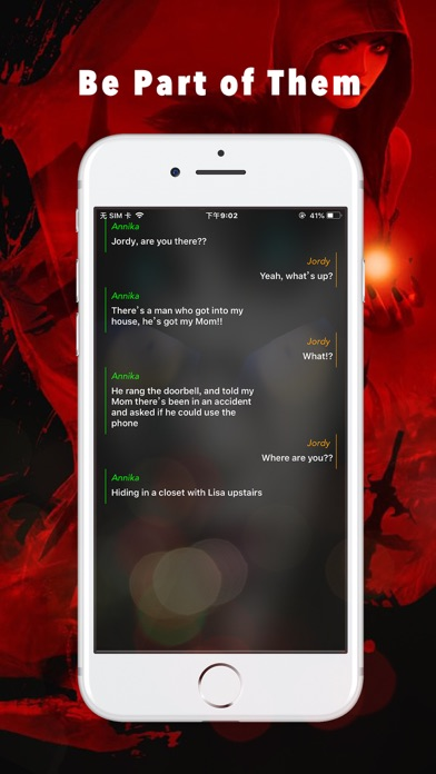 Scary Story - Chat Stories Screenshot