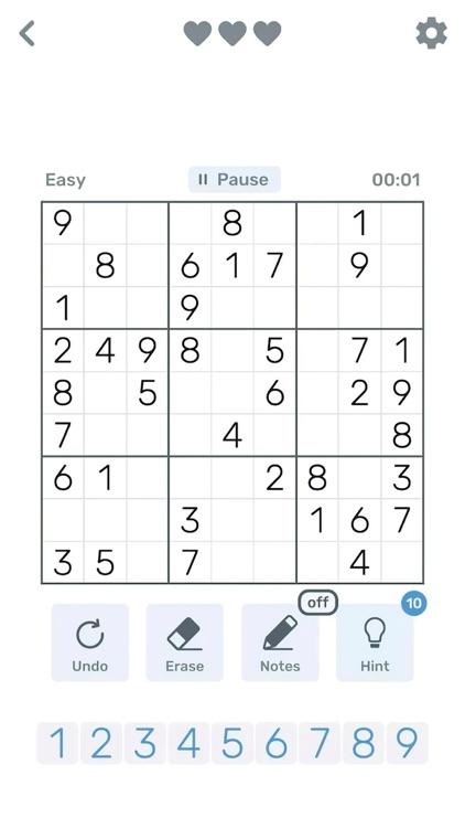 Sudoku Logic: Brain Math games