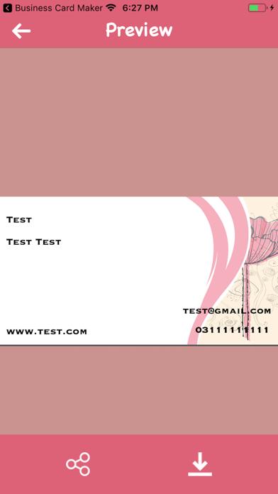 Make Visiting Cards screenshot 4