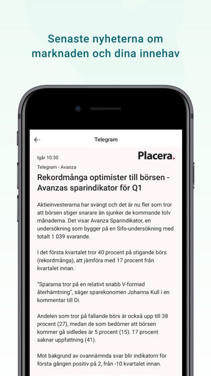 Avanza screenshot-7