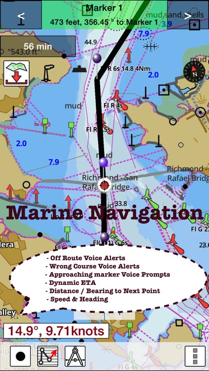 i-Boating: Marine Charts & Gps screenshot-4