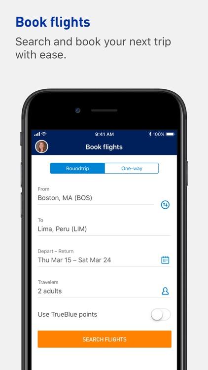 JetBlue - Book & manage trips screenshot-4