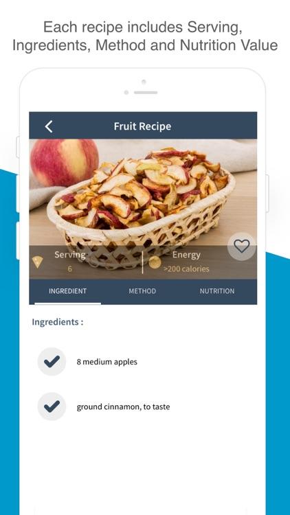 Snack & Dessert Recipes screenshot-4