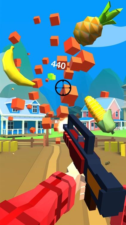 Shooting Hero-Block Gun Games screenshot-0