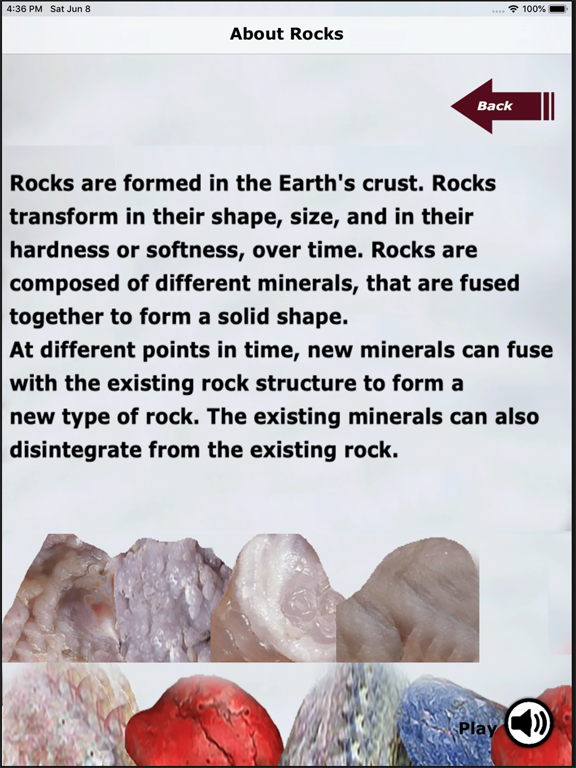 Kidz Learn Rocks screenshot 8