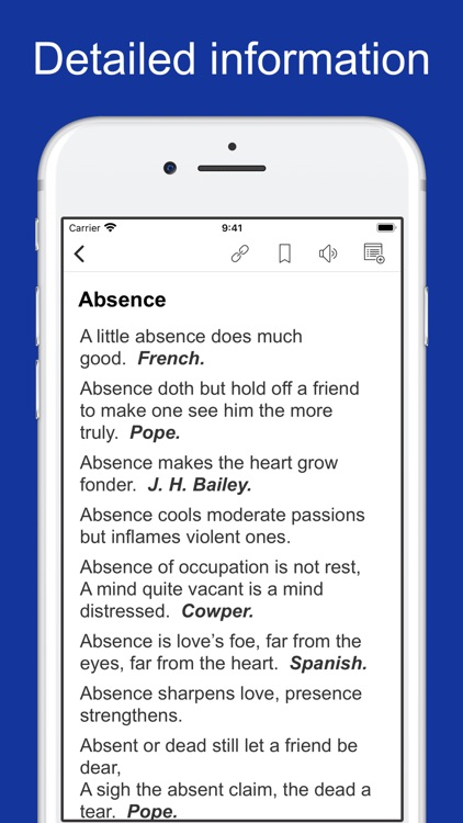 Proverbs, Maxims and Phrases screenshot-1