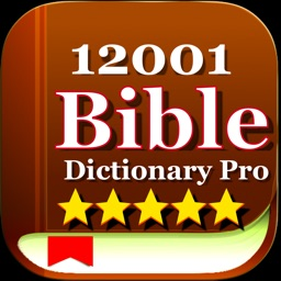 12001 Bible Dictionary Pro
