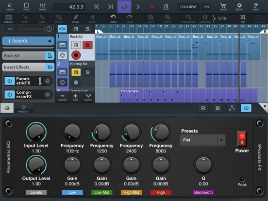 iOS Musician Apps: Parametric EQ AUv3 Plugin